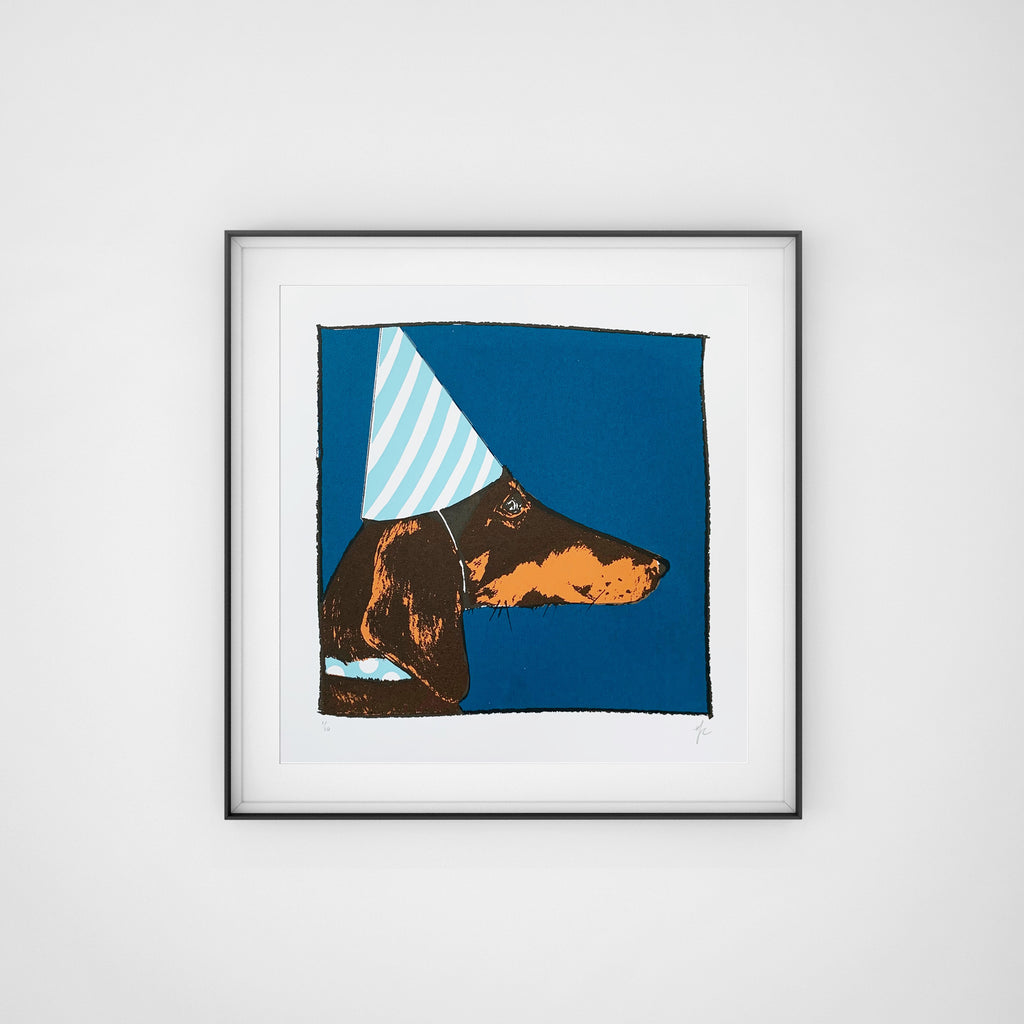 Hannah Carvell, Dachshund Screen Print