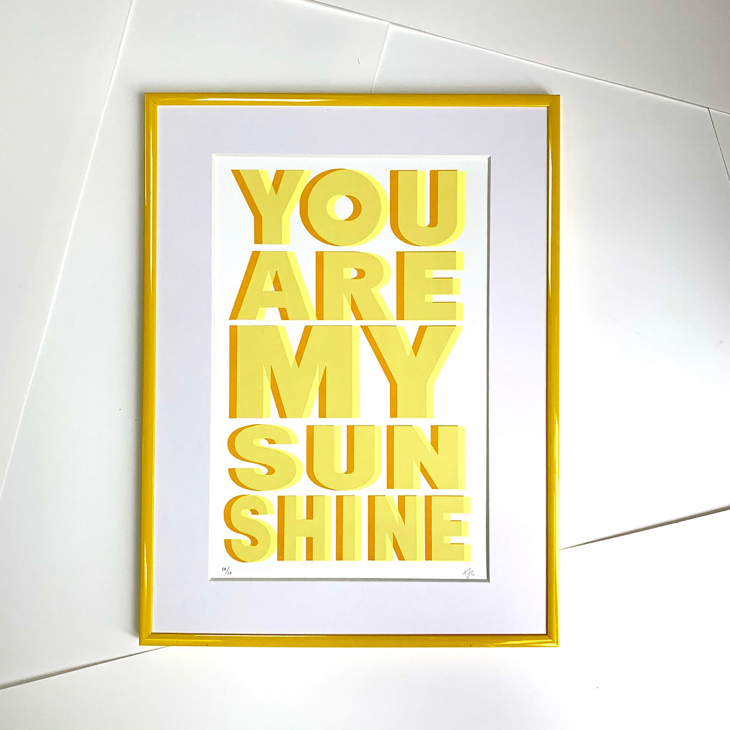 You Are My Sunshine | A3 | YELLOW