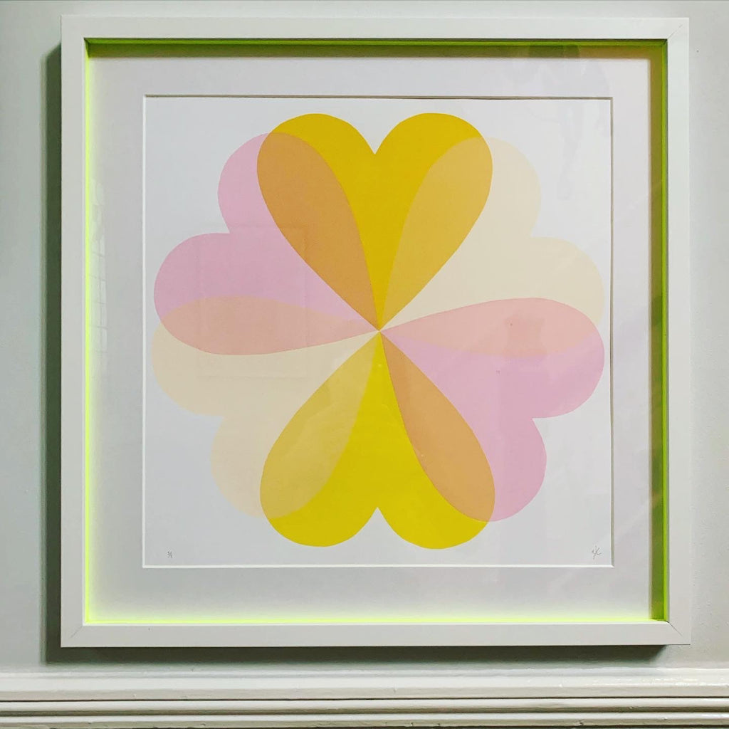Hannah Carvell, Hearts Screen Print