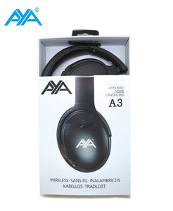 Casque Bluetooth Sans Fil AYA A3 [ORIGINAL] noir
