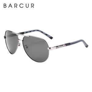 Barcur Polarized Safety Glasses  Gun Blue