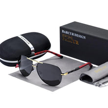 Charger l'image dans la galerie, Barcur Polarized Safety Glasses For Driving - Gold Gray