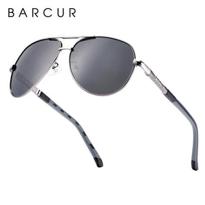 Barcur Polarized Safety  Gun Gray