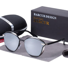 Charger l'image dans la galerie, Barcur Polarized Luxury Women Sunglasses - Silver