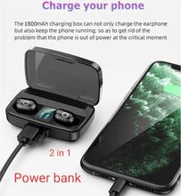 Charger l'image dans la galerie, Airphone sans fil 6D  et power bank
