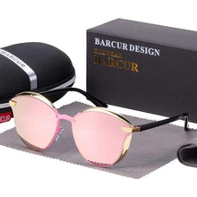 Charger l'image dans la galerie, Barcur Polarized Luxury Women Sunglasses - Pink