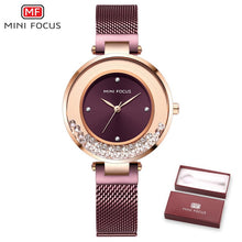 Charger l'image dans la galerie, Ladies Watch MINIFOCUS Watches Women Quartz Lady Wrist Watch Dress Women's  Wristwatch Brand Luxury Fashion Relogio Feminino