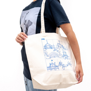Line Drawing Tote Bag