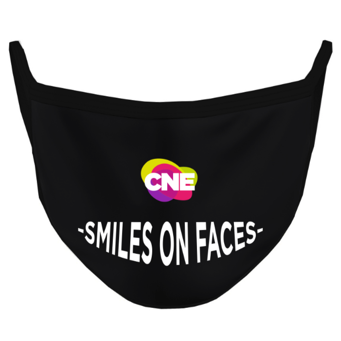 Smiles on Faces Mask