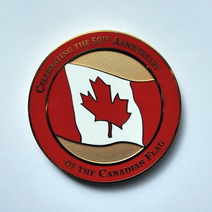 2015 Medallion – Flag of Canada
