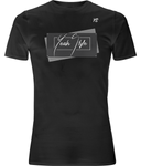 T-shirt YeahStyle manches courtes stretch noir