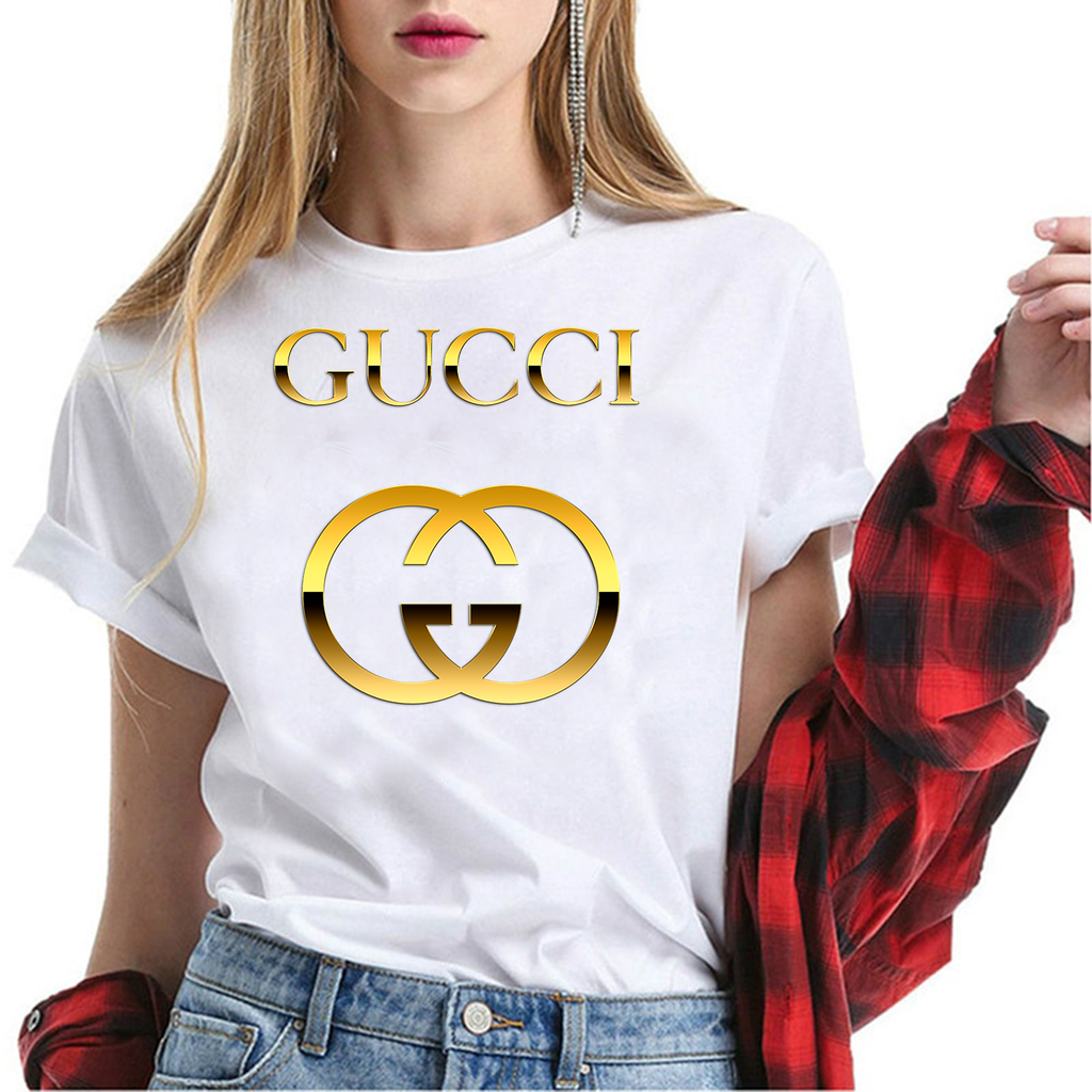 T shirt gucci gold;tshirt women