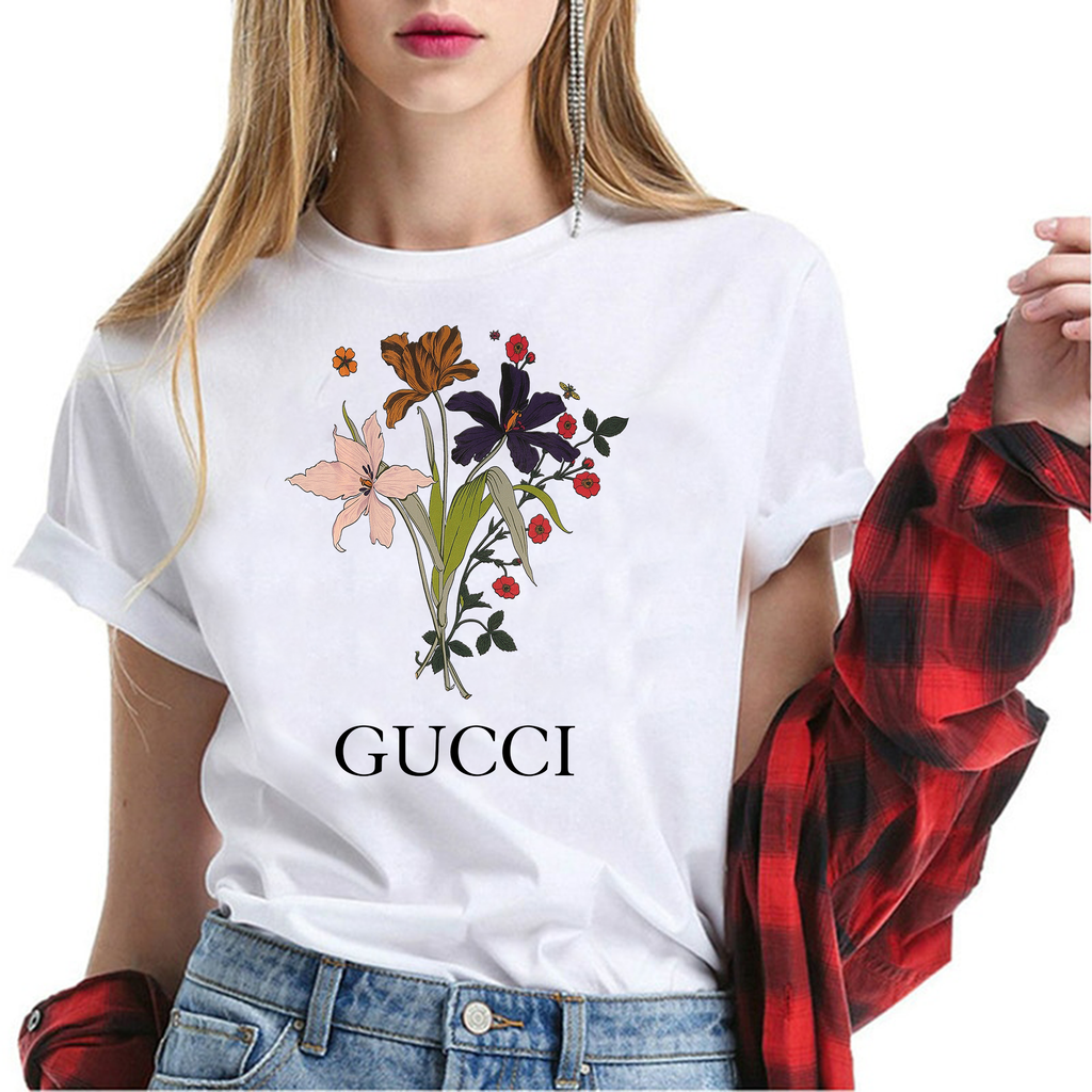 GUCCI FLOWERS T-SHIRT