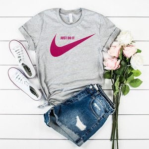tshirt nike just do it ;svg just do it women