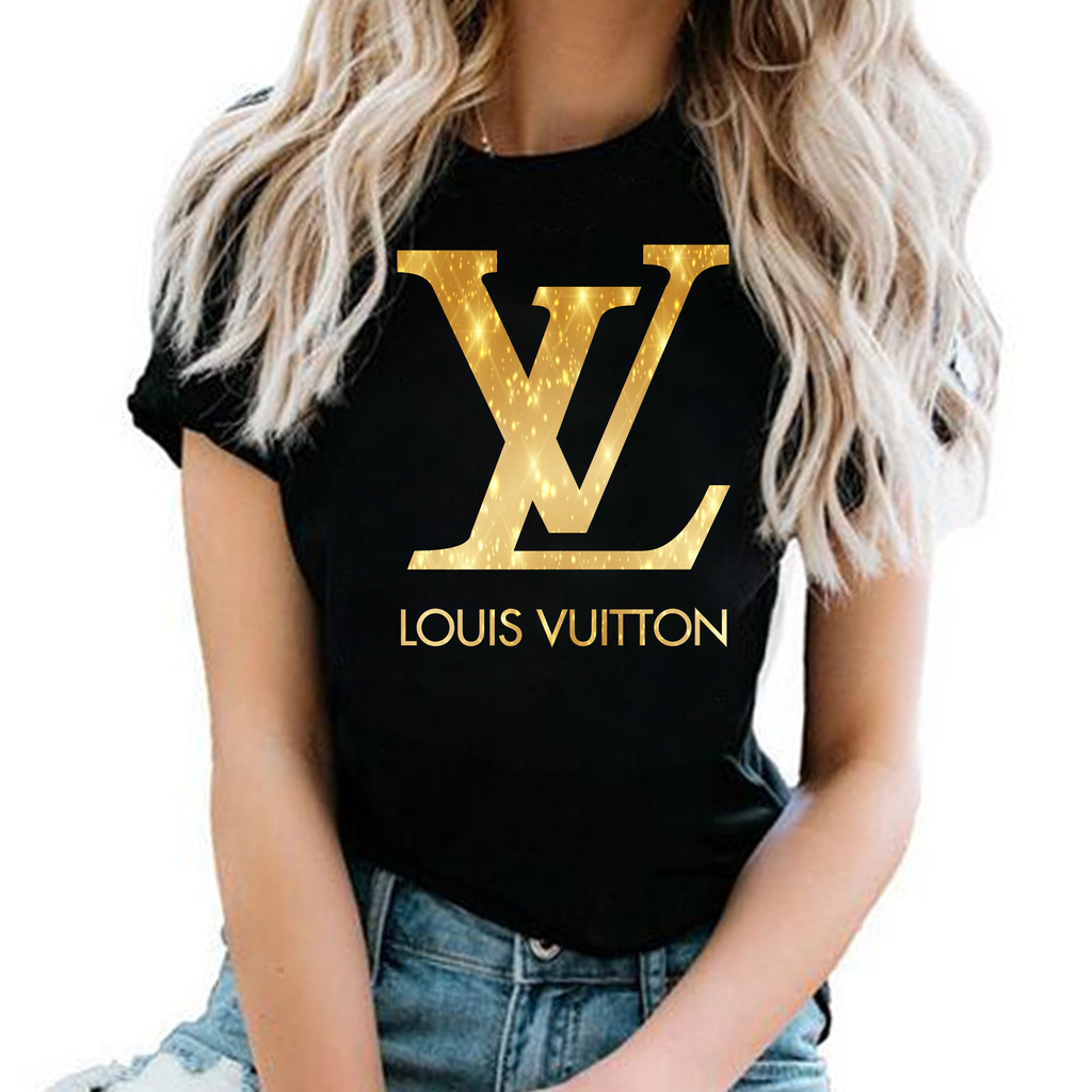tshirt louis vuitton gold ;tee louis vuitton