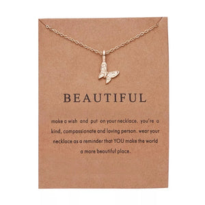 Affirmation Necklace Collection