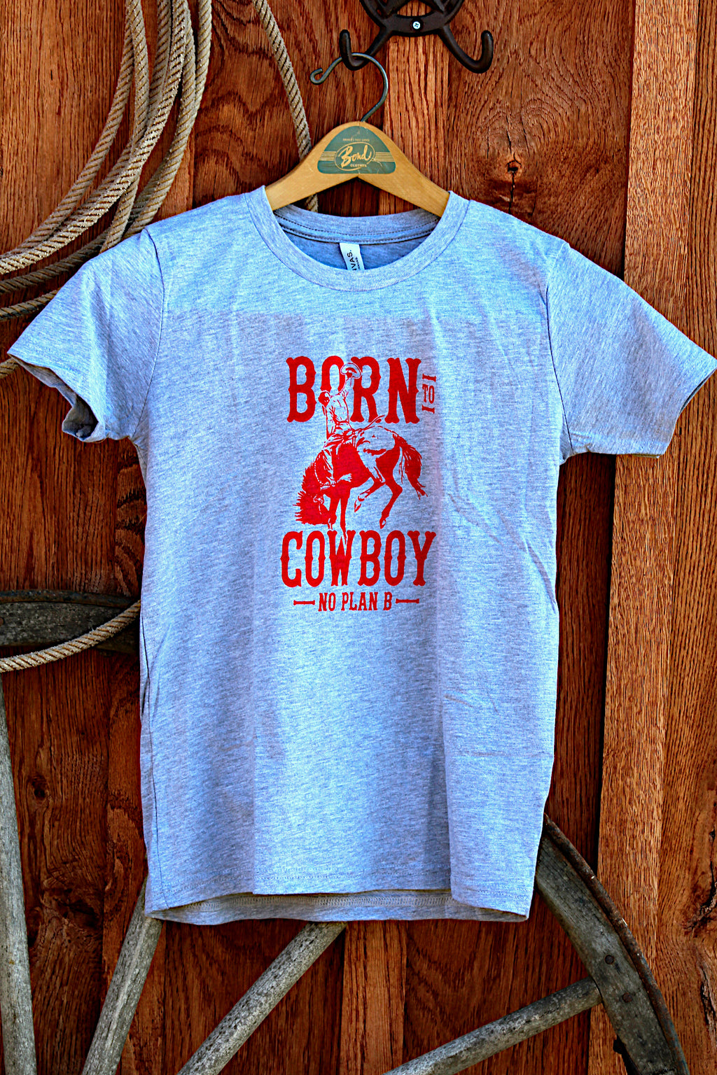 *YOUTH* Born to Cowboy Grey