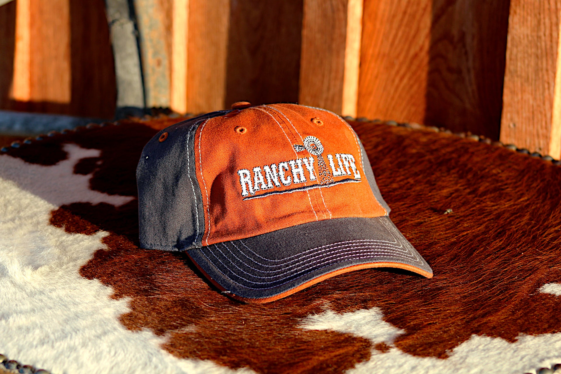 Ranchy Life Windmill Low Crown Cap