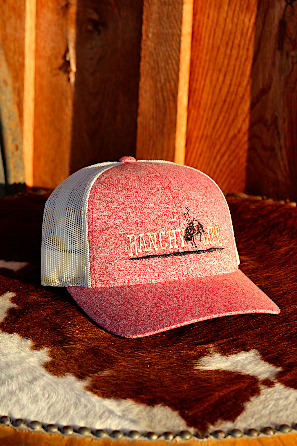 Ranchy Life Bronc Heather Snap Back Cap