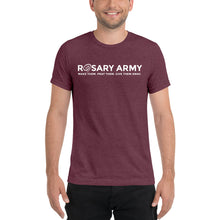 Load image into Gallery viewer, Official Rosary Army Short sleeve t-shirt (8 Color Options Available)