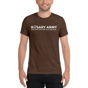 Official Rosary Army Short sleeve t-shirt (8 Color Options Available)