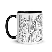 Limited Edition 2020 Advent/Christmas Nativity Mug - Black/White Line Art Version