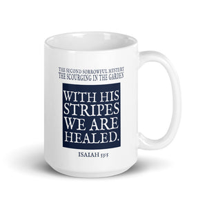 Mug - The Scourging at the Pillar (Single Mug from the Sorrowful Mysteries Collection)