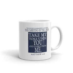 Mug - The Carrying of the Cross (Single Mug from the Sorrowful Mysteries Collection)