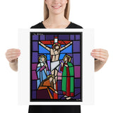 Sorrowful Mystery Print - The Crucifixion