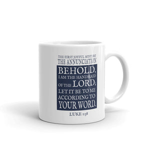 Mug - The Annunciation (Single Mug from the Joyful Mysteries Collection)