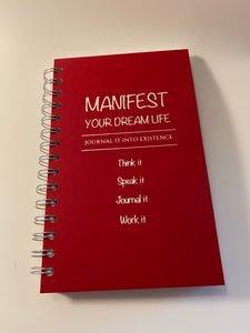 Manifesting Journals- Manifest Your Dream Life