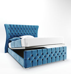 Angy Winged Bed - Styling It Up