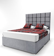 Daria Cube Storage Divan Bed - Styling It Up