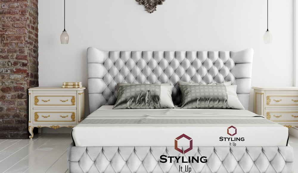 Freeze Chesterfield Designer Bed | My Prestige Living