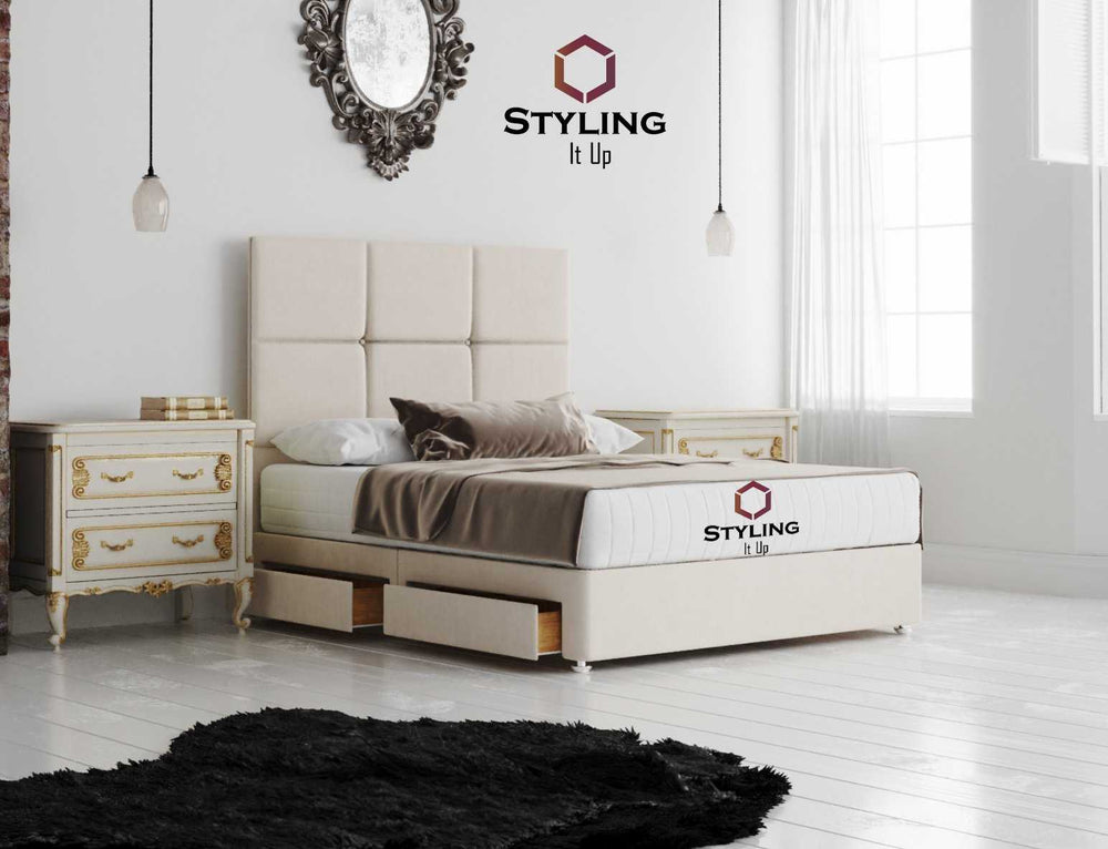 Florence Storage Divan Bed - Styling It Up