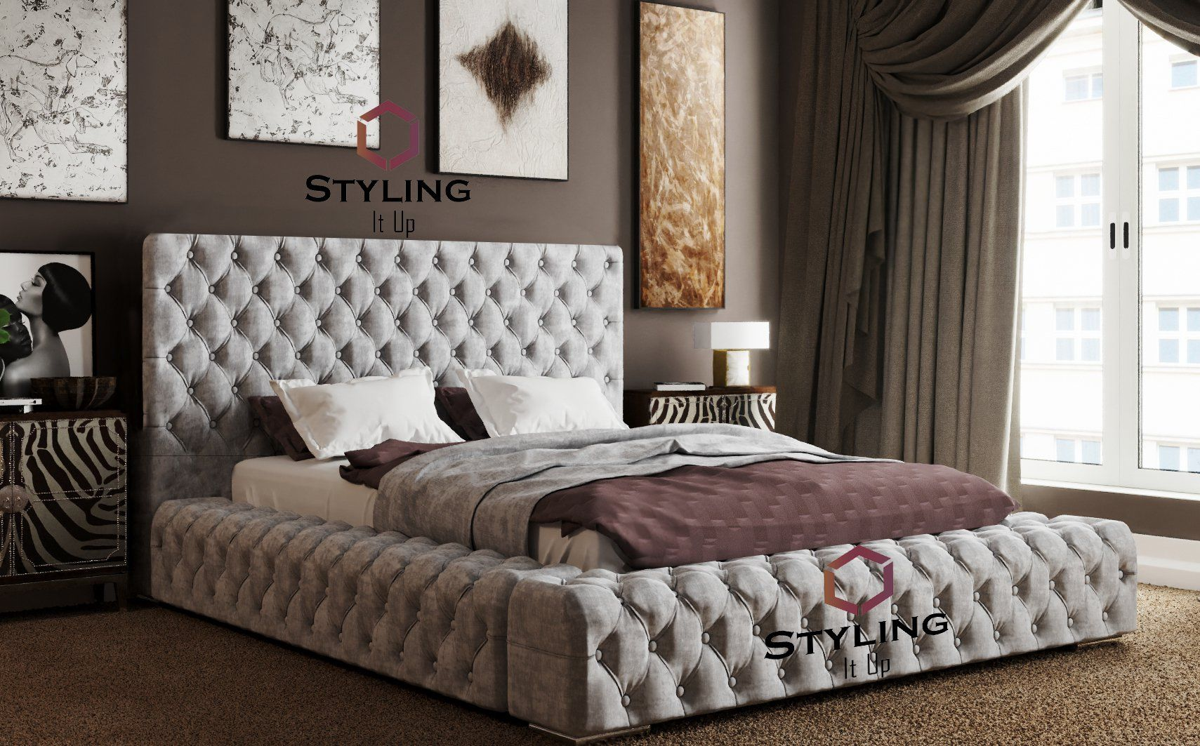 The El Grande Designer Bed - Styling It Up UK