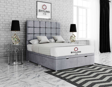 Clarissa Divan Ottoman Storage Bed - Styling It Up