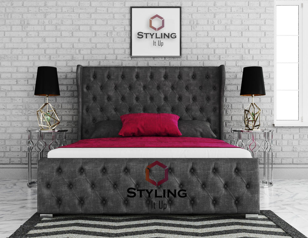 Horona Winged Bed - Styling It Up