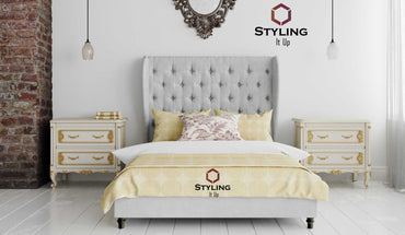 Juniper Winged Bed - Styling It Up