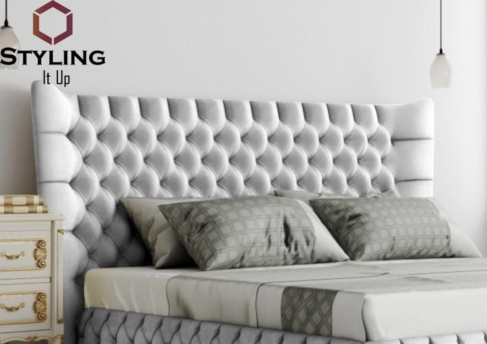 Freeze Upholstered Headboard - Styling It Up