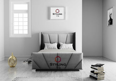 Maxima Hybrid Winged Bed - Styling It Up