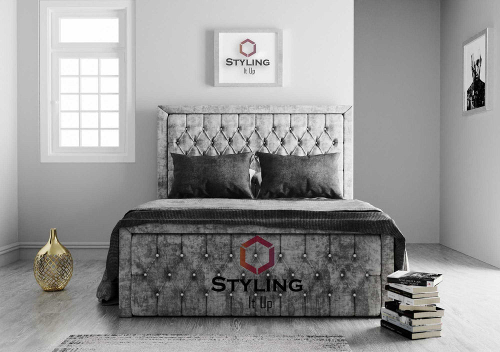 Blaze Squared Bed - Styling It Up