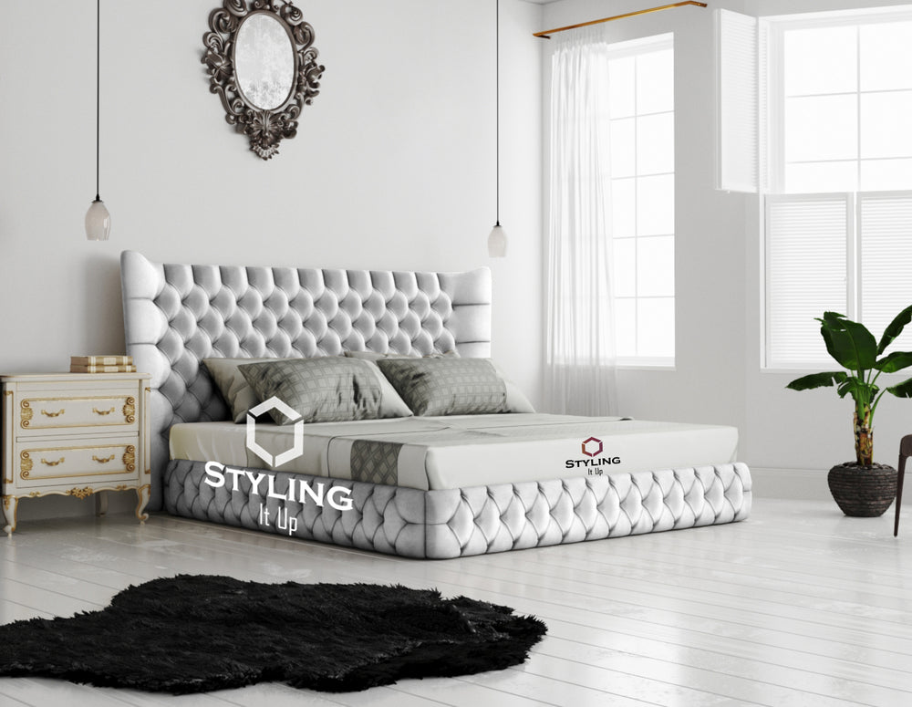 Freeze Chesterfield Designer Bed - Styling It Up