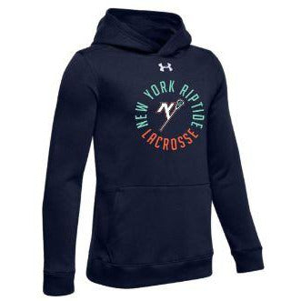 Under Armour Youth Circle Logo Fleece Hoodie