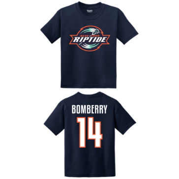 Riptide BOMBERRY Youth Player Tee