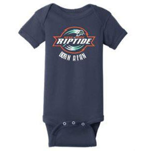 "Rabbit Skins ""Born a Fan"" Infant Onesie"