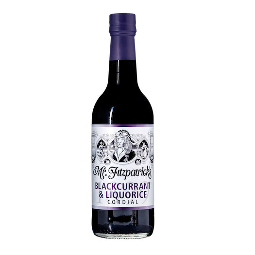 Mr Fitz Blackcurrant & Liquorice Cordial