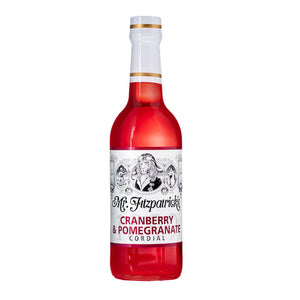 Mr Fitz Cranberry & Pomegranate Cordial