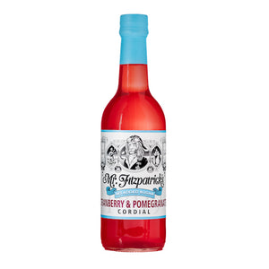 Mr Fitz Cranberry & Pomegranate No Added Sugar Cordial