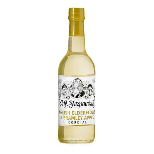 Mr Fitz Elderflower & Apple Cordial
